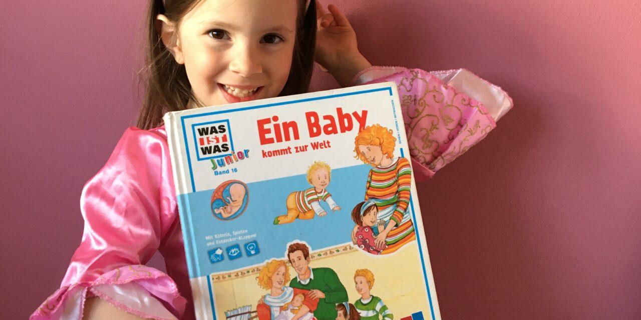 Buchtipp von Sofie Hartmann: Ein Baby kommt zur Welt