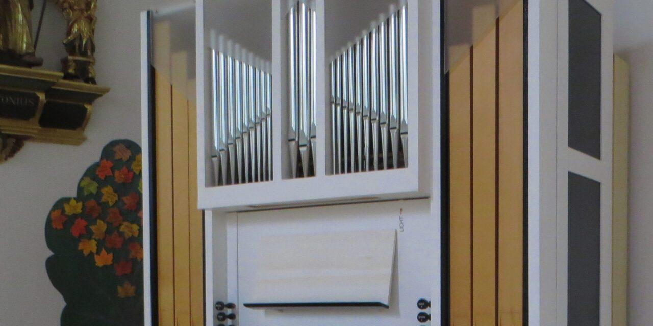 Aktion des Orgelvereins Zürcher Weinland