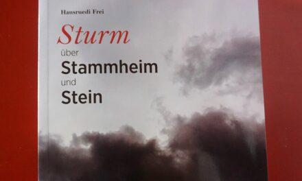 """Buchtipp: """"Sturm über Stammheim und Stein"""" von Hansruedi Frei"""