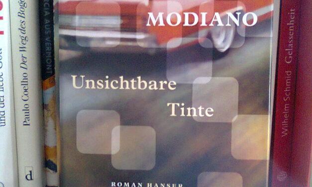 """Buchtipp: """"Unsichtbare Tinte"""" von Patrick Modiano"""